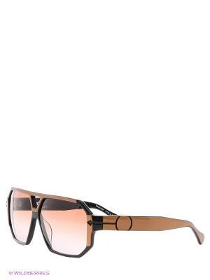 Очки солнцезащитные TM 531S 01 Opposit. Цвет: черный, коричневый