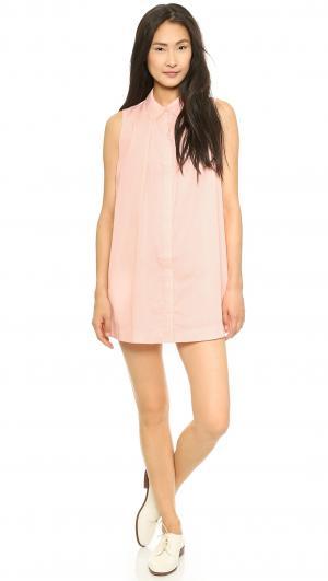 Структурированное платье-рубашка JOA