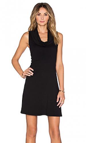 Платье meryl three dots. Цвет: черный