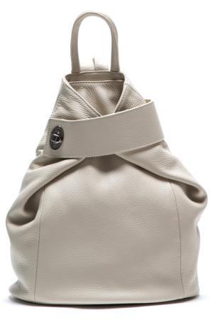 Рюкзак ANNA LUCHINI. Цвет: бежевый