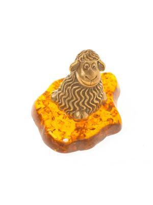 Фигура Овца Aztek. Цвет: желтый, коричневый, светло-оранжевый
