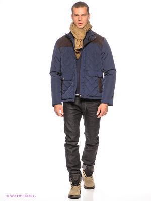 Куртка Baon. Цвет: темно-синий