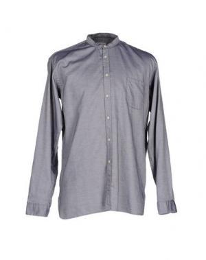 Pубашка BEVILACQUA. Цвет: серый