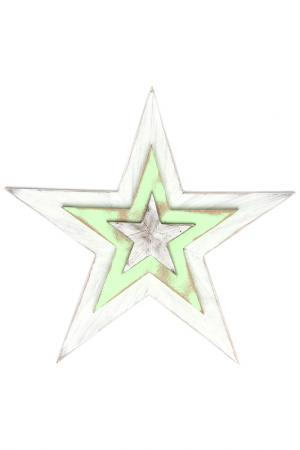 Декор настенный LA NEIGE. Цвет: белый, зеленый