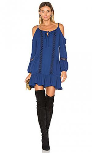 Платье samira VAVA by Joy Han. Цвет: синий