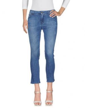 Джинсовые брюки M!A F. Цвет: синий
