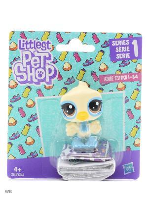 Пет Littlest Pet Shop. Цвет: желтый, голубой