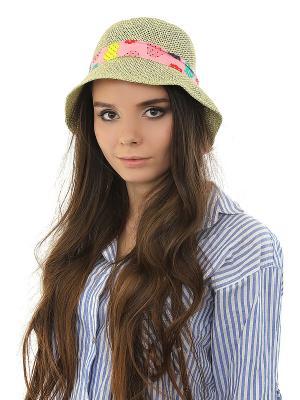 Шляпа Happy Charms Family. Цвет: зеленый, красный, розовый, желтый