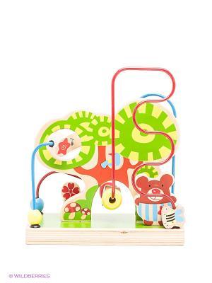 Деревянный лабиринт Лес Toys Lab. Цвет: зеленый
