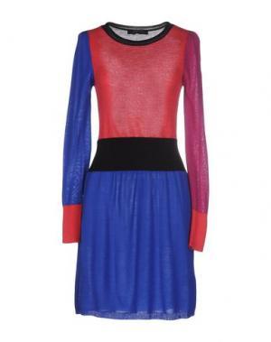 Короткое платье KRISTINA TI. Цвет: коралловый