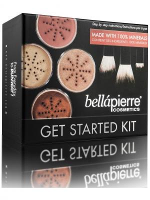 Bellapierre cosmetics FS001 Стартовый набор для макияжа Fair. Цвет: черный