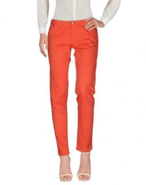 Повседневные брюки DEKKER. Цвет: коралловый