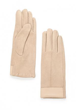 Перчатки Zarina. Цвет: бежевый
