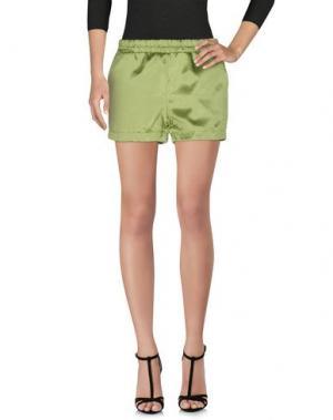 Повседневные шорты JIJIL. Цвет: кислотно-зеленый