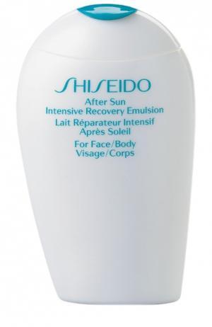 Восстанавливающая эмульсия после пребывания на солнце Shiseido. Цвет: бесцветный