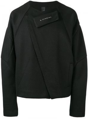 Сетчатая куртка Odd Odeur. Цвет: чёрный