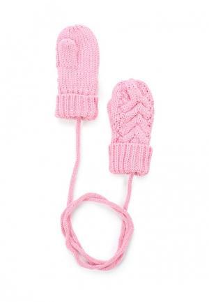 Варежки Maloo. Цвет: розовый