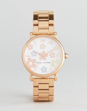 Marc Jacobs Классические наручные часы цвета розового золота MJ3580. Цвет: золотой