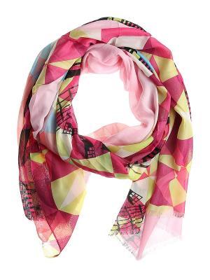 Платок Migura. Цвет: малиновый, голубой, зеленый, розовый, черный