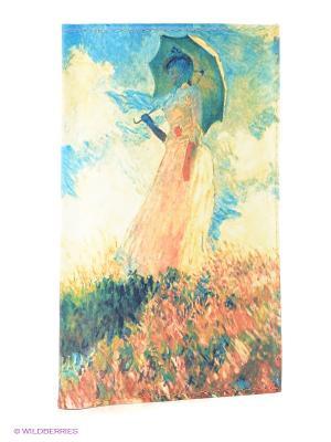 Обложка для автодокументов Клод Моне Дама с зонтиком Mitya Veselkov. Цвет: молочный