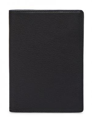Обложка для паспорта WANT LES ESSENTIELS DE LA VIE. Цвет: черный