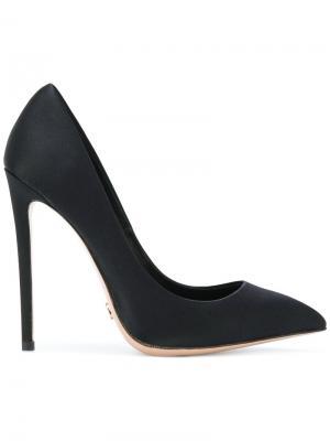 Туфли-лодочки с заостренным носком Gianni Renzi. Цвет: чёрный