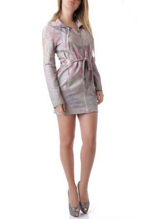 Платье Sexy Woman. Цвет: lilac and gray