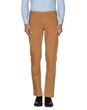 Повседневные брюки DANIELE ALESSANDRINI. Цвет: верблюжий