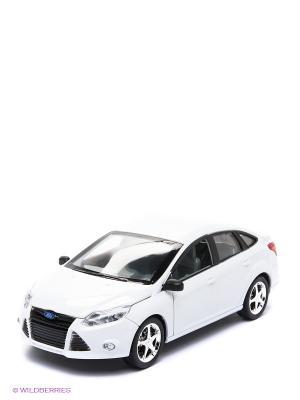 Машинка Форд Фокус AUTODRIVE. Цвет: белый