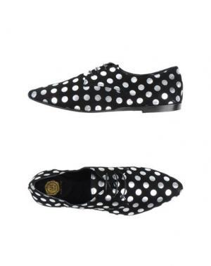 Обувь на шнурках LISA C BIJOUX. Цвет: черный