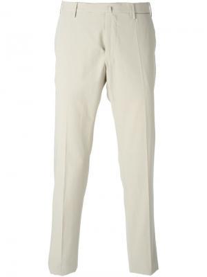 Плотные брюки Incotex. Цвет: телесный