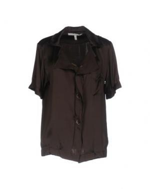 Pубашка AQUILANO-RIMONDI. Цвет: темно-коричневый