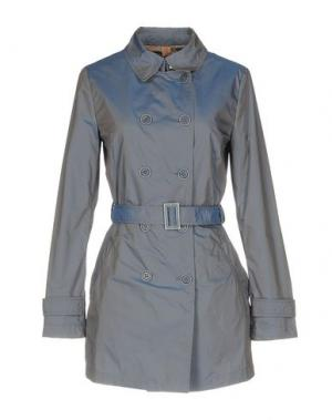 Легкое пальто MABRUN. Цвет: грифельно-синий