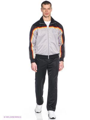 Спортивный костюм ADDIC. Цвет: черный, серый, красный, желтый