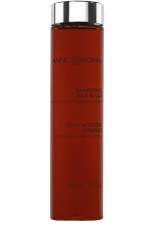 Мягкий шампунь с растительными экстрактами Anne Semonin. Цвет: бесцветный