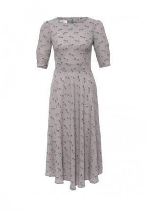 Платье Tutto Bene. Цвет: серый