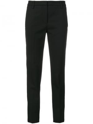 Классические брюки Dondup. Цвет: чёрный
