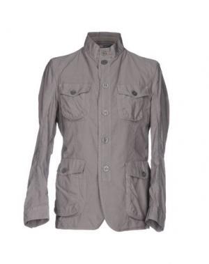 Куртка J.W. TABACCHI. Цвет: голубиный серый