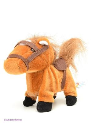 Мягкая игрушка Пони Играем вместе. Цвет: коричневый