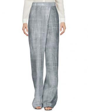 Повседневные брюки LAVINIATURRA. Цвет: зеленый