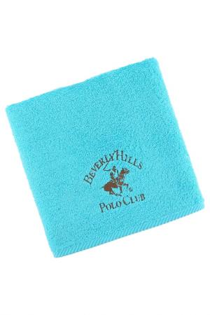 Полотенце для рук, 50х100 Beverly Hills Polo Club. Цвет: turquoise