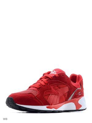 Кроссовки Prevail Puma. Цвет: красный