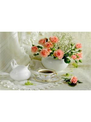 Плейсмат с принтом, набор 4 шт. ПВХ Dorothy's Нome. Цвет: белый, зеленый, розовый