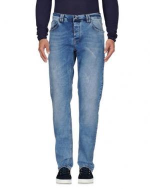 Джинсовые брюки LES ÉCLAIRES. Цвет: синий