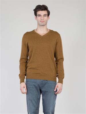 Пуловер Colin's. Цвет: желтый