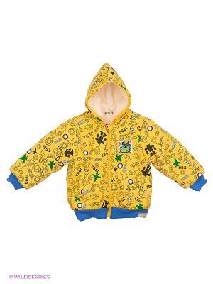 Куртка Kidly. Цвет: желтый