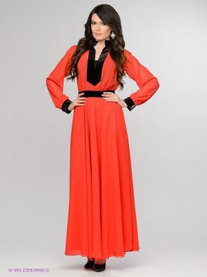 Платье Enna Levoni. Цвет: красный, черный