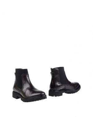Полусапоги и высокие ботинки FRATELLI KARIDA. Цвет: темно-коричневый
