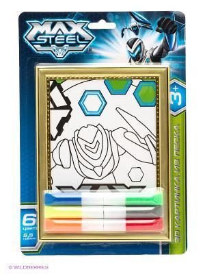 Набор Объемная картинка 3D Max Steel Centrum. Цвет: синий