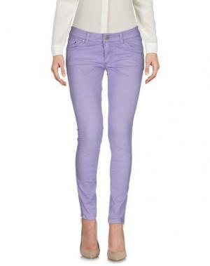 Повседневные брюки GAETANO NAVARRA. Цвет: сиреневый